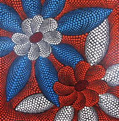 Dot paintings from Bali.  Each design is meticulously hand-painted in acrylic.  So beautiful!
