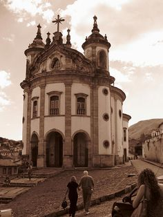 Ouro Preto, Brazil. This was by far my favorite place I went to in Brazil.  Would love to go back someday.