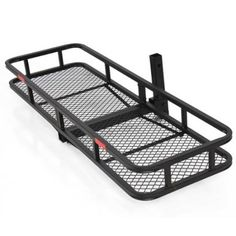 "60"" Folding Cargo Carrier Luggage Rack / Hauler Truck or Car Hitch 2"" Receiver - Walmart.com"