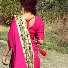 #punjabi #suit #pink #punjabankuri❤❤❤✌