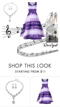 """""""Music note on Staircase"""" by andrea-pok on Polyvore featuring Music Notes, WALL and vintage"""