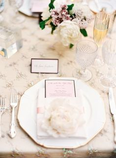 wedding tablescape, i think the pops of green would look nice with the chairs