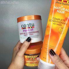 Cantu comin' thru! Natural Hair Care Tips, Natural Hair Journey, Natural Hair Styles, Curly Hair Care, Curly Hair Styles, Aloe Vera For Hair, Pelo Natural, Dream Hair, Hair Oil