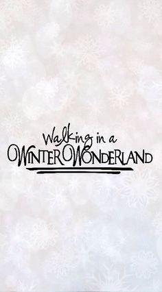 Walking in a Winter Wonderland _ Camminando in un paesaggio incantato d'inverno