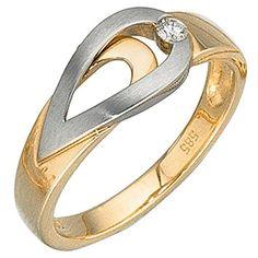 Dreambase Damen-Ring Gelbgold mit Weißgold kombiniert 14 ... https://www.amazon.de/dp/B01GQWZFNM/?m=A37R2BYHN7XPNV