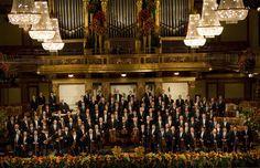 Die Wiener Philharmoniker und Ich, wünschen Ihnen PROSIT NEUJAHR!