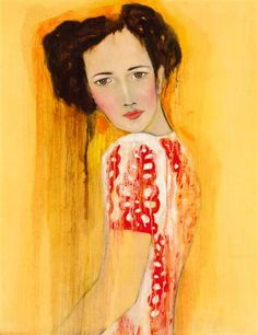"""Guinevere"" by Ryan Pickart #portrait #art #art deco"