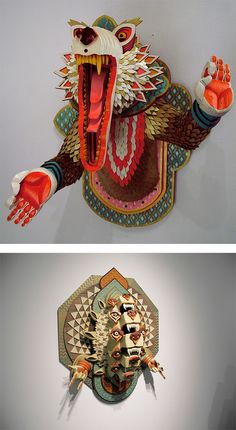 Guest Post: Incredible Wood Sculptures by AJ Fosik | Inspiration Grid | Design Inspiration