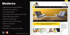 Download Moderno Corporate WordPress Theme - http://wordpressthemes.me/download-moderno-corporate-wordpress-theme/
