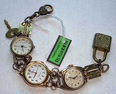 Recycled Reclaimed Vintage Watches And Working by Recycloanalyst, £25.00