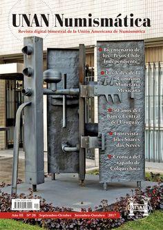 Se publicó el No. 20 de la Revista UNAN Numismática, correspondiente al bimestre Septiembre-Octubre de 2017. Puede descargarse en nuestra Biblioteca Digital: http://www.monedasuruguay.com/bib/bib/unan/unan020.pdf