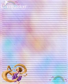Compassion International stationary for sponsored kids. Compassion International, Writing Paper, Stationary, Disney Characters, Fictional Characters, Disney Princess, Kids, Art, Young Children