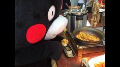 Kumamoto is enjoying a buffet today.