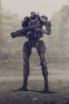 ArtStation - Robot, Andrey Terentev                                                                                                                                                                                 More