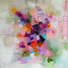 "Saatchi Art Artist Sandy Dooley; Painting, ""Conversation With My Garden "" #art"