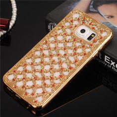 Hot Luxury Lace Diamond Floral Design Soft Case for Samsung Galaxy S7 S6 Edge S5 S4 S3 A3 A5 A7 J3 J5 J7 2016 Grand Prime Cover