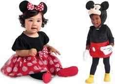 Mickey & Minnie Mouse #costumes #costumesforkids #halloweencostumes