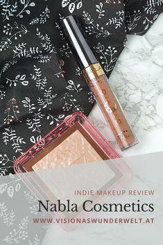 Makeup Review zur italienischen Indie Makeup Marke Nabla Cosmetics. Mit dem gehypten Skin Glazing Ozon Highlighter. Nabla Cosmetics, Liquid Lipstick, Cruelty Free, Makeup, German, Eyeshadow, Hacks, How To Make, Blog