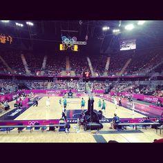 barbaracska's photo  of London 2012 Basketball Arena on Instagram