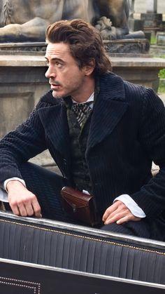 RDJ- love him as Sherlock Holmes! Sherlock Fandom, Sherlock Bbc, Shinee Sherlock, Sherlock Holmes Serie, Sherlock Holmes Wallpaper, Sherlock Holmes Dibujos, Sherlock Holmes Robert Downey, Sherlock Holmes Quotes, Robert Downey Jr.