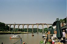 Calstock Viaduct, Tamar Valley Line - Wikipedia, the free encyclopedia