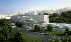 King Abdullah II House of Culture & Art / Zaha Hadid Architects