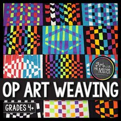 Op Art Paper Weaving (3rd and 5th) | Art with Mrs. Nguyen
