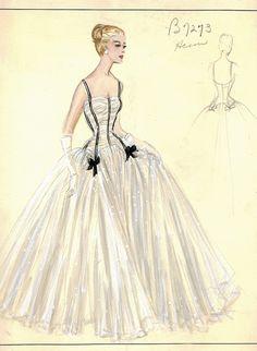 Bergdorf Goodman Archives • Cocktail & Evening Dresses via ana-lee.livejournal.com