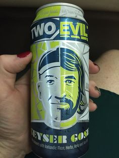 Two Evil Geyser Gose - Two Roads and Evil Twin