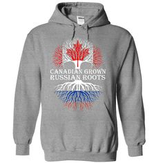 Canadian Grown with Russian Roots Hoodie http://aztshirtshoodies.com/product/canadian-grown-with-russian-roots-hoodie/