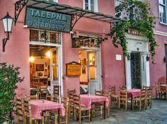 Taverna Platanos Athens, Greece