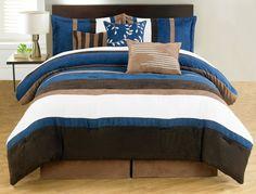 Duena 7 Piece Comforter Set