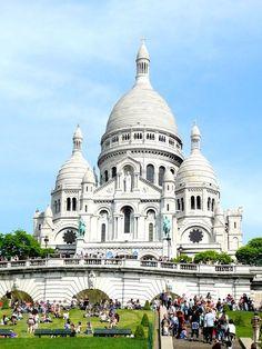 Sacre Coeur. Still my favorite in all of Europe