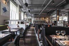 The Vincent (Liverpool, UK), Standalone Restaurant   Restaurant & Bar Design Awards