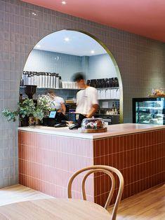 Australian Interior Design, Interior Design Awards, Design Café, Cafe Design, Design Ideas, Restaurant Logo, Restaurant Design, Modern Restaurant, Boutique Interior
