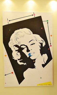 Marylin Monroe in plastic surgery... #plasticsurgery #marylinmonroe #marylin #monroe #acrylic #painting #teodosio