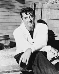 Robert Mitchum. He was gorgeous