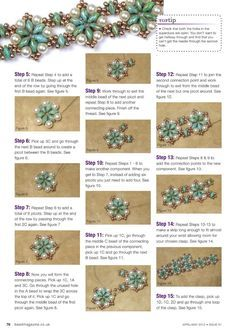 Petals and Pearls - 3/5 - Beading necklaces