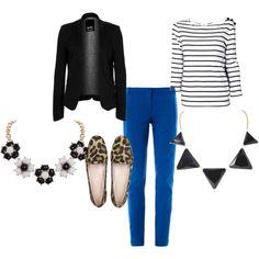 Black & Blue by @Vicky Mason victoriamason of TheMummyChronicles.com, via Polyvore