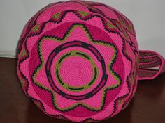 """Genuine Wayuu Mochilas. We only sell PIECES OF ART""""  ONE OF A KIND. Hadwoven in the best quality."""