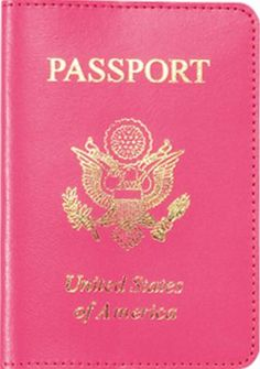 Pink passport for all of us girly boi's