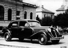 Škoda Superb (type manufactured from 1936 to in total 53 vehicles in several variants such as Limousine, Sedan, Cabriolet or an ambulance car. Vintage Cars, Antique Cars, Mini Trucks, Car Images, Car Tuning, Car Brands, Car Wallpapers, Concept Cars, Cars And Motorcycles