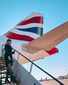 Flight Attendant Hair, British Airways Cabin Crew, Beauty Cabin, Trolley Dolly, Aviation, Female, Dream Job, Instagram, Clothing