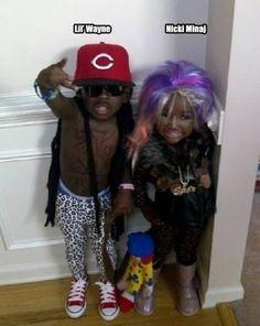 FAIL- halloween costume, Lil Wayne and Nicki Minaj