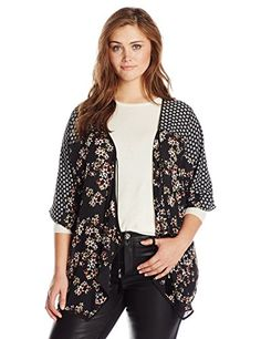 NY Collection Women's Plus-Size 3/4 S…