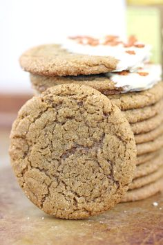 Award Winning Gingerbread Cookies: These competition winning cookies call for orange juice to create maximum bursts of gingerbread flavor. These chewy and soft gingerbread cookies are perfect for Christmas. Find more of the best gingerbread cookie and Christmas dessert recipes that are chewy, healthy, and soft for Christmas here.