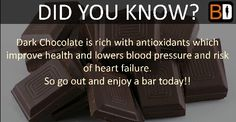 Dark chocolate has health benefits (as if we needed an excuse !)  Call at 9555557585 to make a booking at your favourite restaurant across Delhi/NCR.