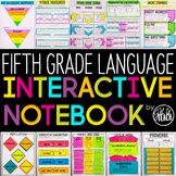 5th Grade Language Interactive  Notebook | Grammar Interac