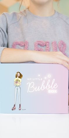 My Little Bubble Box - Mars 2016 Little Boxes, Graphic Sweatshirt, T Shirt, Mars, Bubbles, Inspired, Sweatshirts, Sweaters, Inspiration