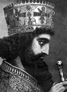 Xerxes I (the Great) of Persia 486 BC- 465 BC, son of Darius the Great